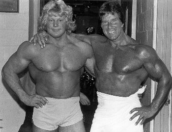 Reg Park And Dave Draper Travels With Reg