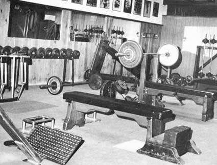 Image result for gyms from the 70's